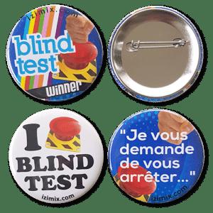 badges izimix